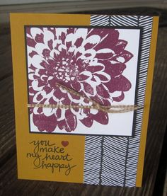 Stampin' Up!, Definitely Dahlia, DIY Crafts, Lovely Amazing You