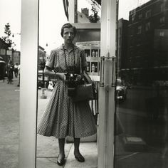 Vivian Maier - Self Portrait, New York, 1954