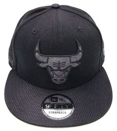 Chicago Bulls New Era 9FIFTY NBA Savvy Strap Strapback Cap Hat Mens OSFM   NewEra  ChicagoBulls 1d74b2946af