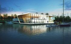 ullswater yacht club by PARKdesigned