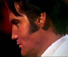 Elvis in june 30 1968 filming the sequence of the ending of his NBC t-v special…