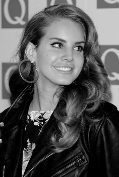 Lana Del Rey attends the Q Awards in London on October 24th, 2011
