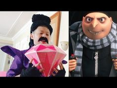 Despicable me 3 Characters Real Life | Pink Diamond - YouTube