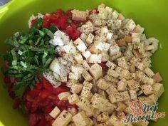 Recept Těstovinový salát se sýrem čedar Feta, Potato Salad, Salads, Potatoes, Cheese, Snacks, Dishes, Ethnic Recipes, Soups