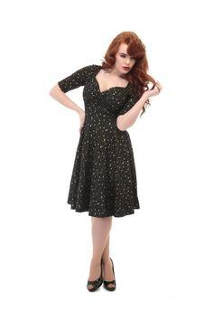 Collectif Mainline Trixie Atomic Star Doll Dress