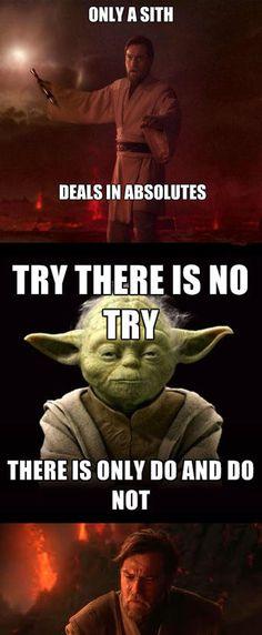 Yoda is a Sith