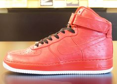 Nike Air Force 1 iD Ostrich Leather Samples Air Force 1 High 151ca34d0