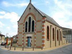 Fleurance Temple - Gers dept. - Midi-Pyrénées région, France      ...huguenotsinfo.free.fr