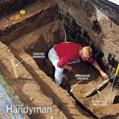 How to Install a Terraced Window Well in Your Basement | The Family Handyman = DRAINAGE IS ESSENTIAL
