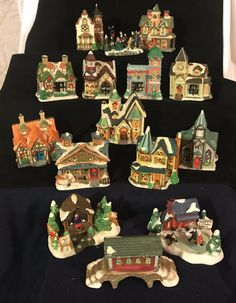 cobblestone cornersschool cobblestone corners christmas village pinterest christmas villages