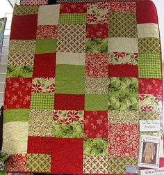 12 Days of Christmas Quilt - Fabric Mill: September 2010