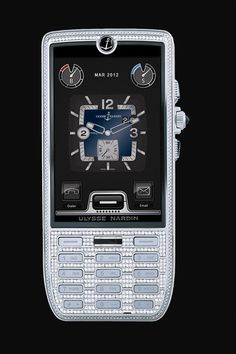 Fit For A Chairman Ulysse Nardin Diamond Edition 3 Mobiles, Bling Bling, Smartphone, High Tech Gadgets, Mobile Phone Cases, Mobile Phones, Elegant Man, Cool Tech, Great Pictures