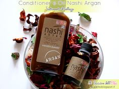 Il Taccuino dell'Elfa: Conditioner e Oil Nashi Argan