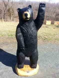 Hello Big Black Bear! | Sleepy Hollow Art | Bears, 2013