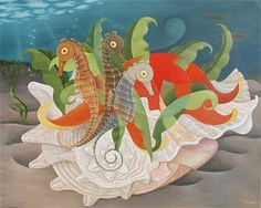 "Carol Manasse ""Sea Horses"""