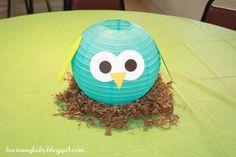 My Nephew's 1st Birthday Party! {Owl Themed}