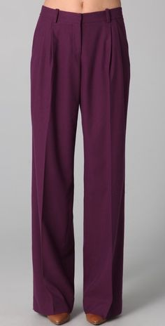 Robert Rodriguez Wide Leg Pleated Pants thestylecure.com