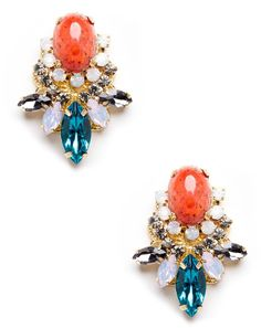 Sole Society Cluster Stone Stud on shopstyle.com