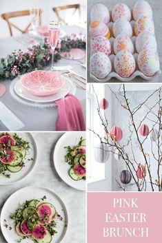 Modern Pink Easter Brunch_1