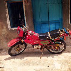 Bob Marley motorcycle.  Jamaica