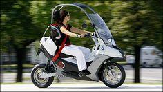 BMW et les scooters - Du C1 2000-2002 au projet C1-E électrique
