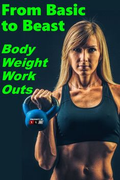 Five of the best bodyweight exercises that will help you build muscle safely on the road, at home, or in the gym. #ylo #bodyweight #bodyweightexercise Fun Workouts, At Home Workouts, Weight Workouts, Fast Fat Burning Workout, Lower Body Fat, High Intensity Cardio, Cardiovascular Training, Cardio Routine, Aerobics