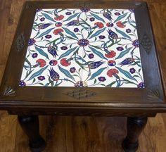 Tile Art, Tiles, Kaya, Tile Tables, Bois Diy, Metal Forming, Piece A Vivre, Polymer Clay Flowers, Handicraft