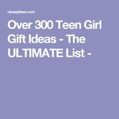 Over 300 Teen Girl G