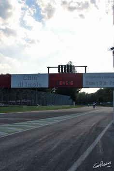 Walked the entire track after the F1 race
