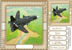 Fighter Plane in the Sky  on Craftsuprint - View Now!