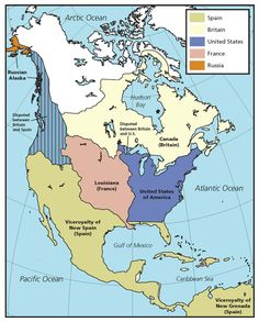 Westward expansion map of the usa map land areas and westward expansion through maps national geographic education sciox Images