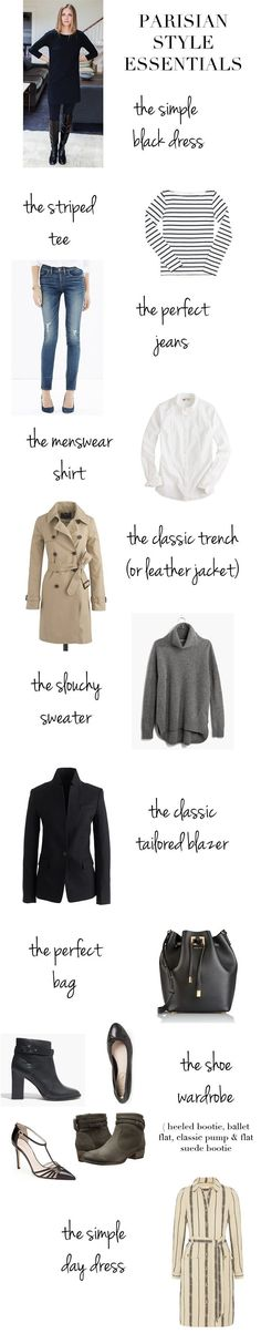Elements of Style Blog | Parisian Style Essentials