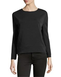 Theory Aija Blouse Black 45