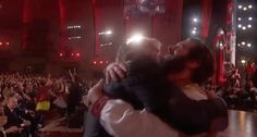 And did you catch this hug between Dave Malloy and Josh Groban during The Great Comet performance? What dreams are made of!