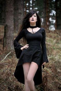 """gothicandamazing: """" Model: Electra Nox Dress: Punkrave Welcome to Gothic and Amazing   www.gothicandamazing.com """""""
