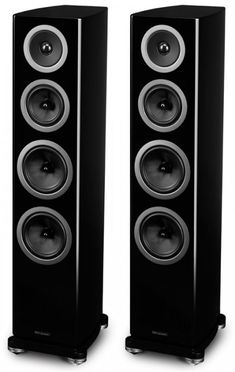 The Wharfedale Reva-3 is the smaller of the two floor standing speakers in the Reva range and is perfect for use in larger rooms with either hi fi set ups or in home cinemas. Black. Center Speaker, Speaker Stands, Monitor Speakers, Bookshelf Speakers, Hifi Audio, Bluetooth Speakers, Best Floor Standing Speakers, Home Cinemas, Loudspeaker