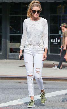 Los mejores looks de la top Gigi Hadid fuera de la pasarela