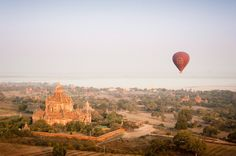 From October through March, Burma's dry season, Balloons Over Bagan offers…