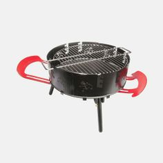 Outback 3-in-1 Cook Station Deal - Tanga $27.99   Functions as a fire pit, BBQ grill, dutch oven cooking station. The outback Station is designed to be compact and durable. The main elements are an aluminum cased grill plate to position 10-20 charcoal briquettes which warm the dutch oven. The retractable legs provide support for the grill plate and provide stability. The handles extend to provide the user a place to set utensils and to place the dutch oven lid when stirring the pot.
