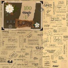 {+100+things+}+by+Ali+Edwards+@2peasinabucket