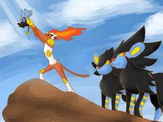 Pokemon/Lion King crossover