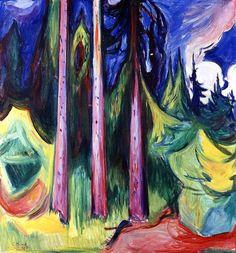 Forest Edvard Munch - 1927