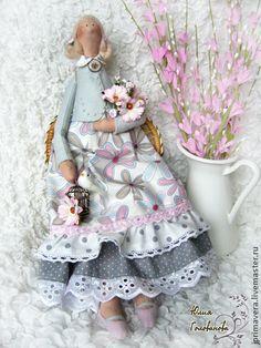 """ТИЛЬДА """"Нежные ромашки"""" - тильда,кукла Тильда,ангел тильда,ярмарка мастеров"""