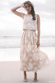 BHLDN Summer 2015  #wedding #dress #beach #bride
