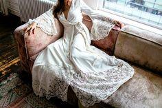Stone Fox Bride: Glenda Gown Available in London Stone Fox Bride, Bohemian Bride, Bohemian Style, Boho Wedding Dress, Wedding Dresses, Sparkle And Fade, Lingerie Shoot, Estilo Boho, Bridal Photography