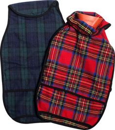 Flannel Hot Water Bottle Cover | Plaid | Vermont Country Store