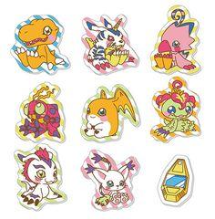 AmiAmi [Character & Hobby Shop] | Digimon Adventure - FuwaFuwa Sticker(Released)