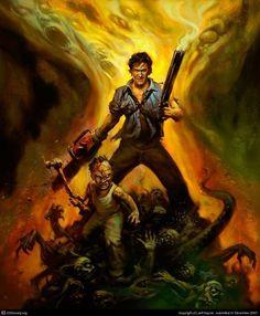 Evil Dead Regeneration art by Jeff Haynie