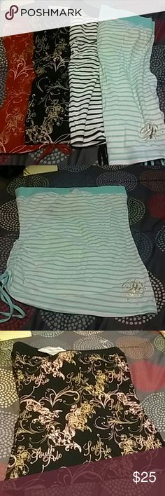 Bundle of Tube Tops New never worn south pole tube tops. South Pole Tops Tank Tops