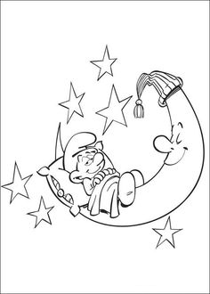 smurfs coloring pages for kids printable online coloring 6